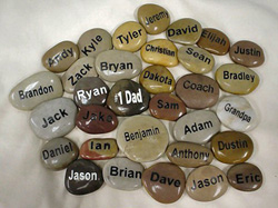 Engraved Stone Promotional Giveaways